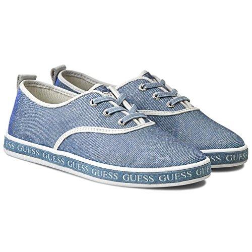 Baskets Lindsy bleues Bleu
