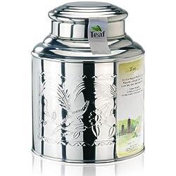 KARAMELL - Aromatisierter schwarzer Tee - im Tea Caddy (Teedose) - Ø170 mm, Höhe 220mm (1 Kilo)