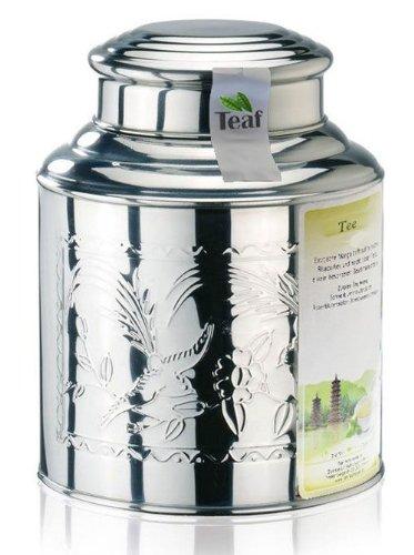 OPA'S OBSTGARTEN® - Früchtee - im Tea Caddy (Teedose) - Ø130 mm, Höhe 180mm (500g) Opas Caddy