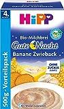 Hipp Gute-Nacht-Brei Banane Zwieback 500g