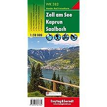 Hiking Maps of the Austrian Alps: Zell Am See, Kaprun, Saalbach