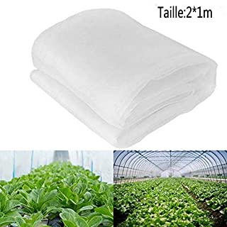 Keptfeet Garden Netting, Fine Mesh Netting Grow Tunnel Plant Protection Netting - Insect Netting for Vegetables Plants (2M*1M)