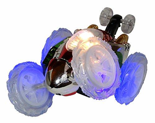 Ferngesteuerter Ambe RC Radio Control Überschlag Stunt Auto Car Stuntauto Buggy mit LED Licht Fernbedienung NEU