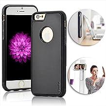 """Vandot iPhone 7 Anti Gravity Case, Mágico Anti Gravedad Selfie Palillo Caso Ordenador Personal Nano Succión Duro Contraportada Hard Back Cover para el iPhone 7 4.7"""" (Negro)"""