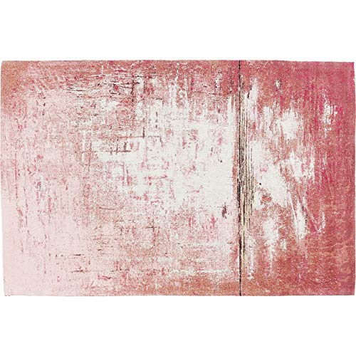 Kare Teppich Abstract Dunkelrosa 240x170cm Rot 240 170 1 240 x 1 x 170 Teppich Abstract Dunkelrosa 240x170cm Stoff u. Kunstleder Eckig
