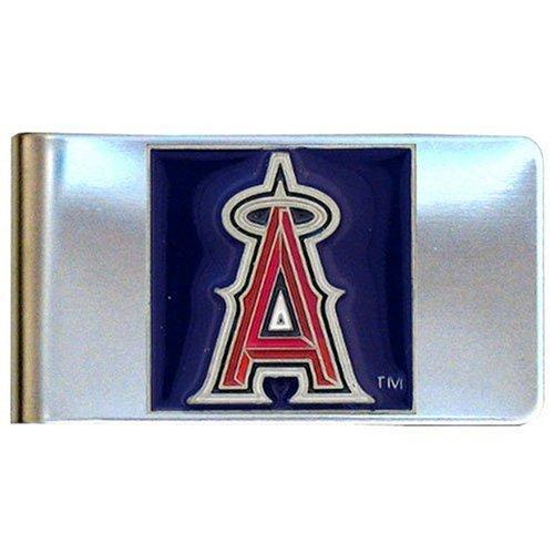 Siskiyou MLB Clip de Dinero de Acero, Hombre, Los Angeles Angels