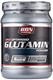BBN Hardcore Glutamin Powder Neutral, 550 g, 1er Pack (1 x 550 g)