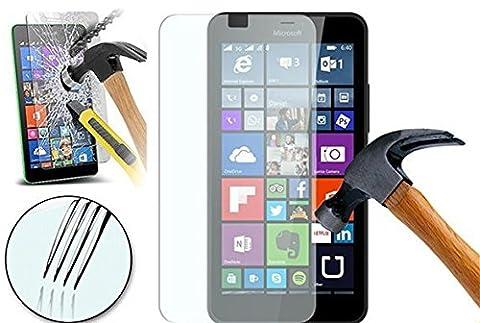 ZIMA® Film vitre de protection écran pour Microsoft Nokia Lumia 640 XL / 640 XL LTE Dual SIM en verre trempé haute transparence et ultra résistant (incassable, inrayable