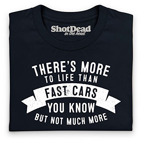 More To Life - Fast Cars T-Shirt, Herren Schwarz