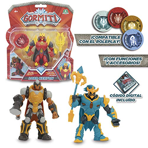 Gormiti - 12 cm articulated action figures with Function, Assorted Models (Giochi Preziosi grm02000)-1 Piece