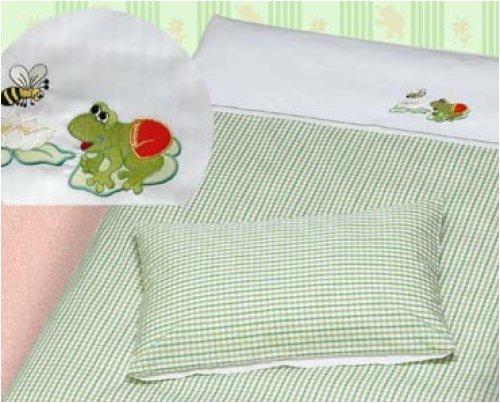 Bettwäsche - Set Frosch - Baby-bettwäsche-sets Frösche