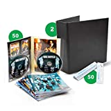 DVD-Kombipack - 50 doppelte DVD-Hüllen, 2 DVD-Ordner, 50 Strips