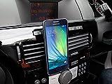 Supporto Magnetico Per Meizu PRO 6 Plus / M3X / Pro 6s / M5 / M3 Max / M3E / Pro 6 / 5 | M2 | MX5 | M2 Note | MX4 Note | MX3 - Adattabile Alla Griglia Ventilazione Auto - DURAGADGET