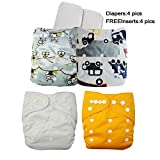 Besto Baby Reusable Cloth Pocket Diapers...