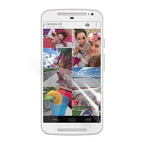Motorola Moto G 2nd Generation Schutzfolie Klar LCD Screen Guard Protector Tuch -
