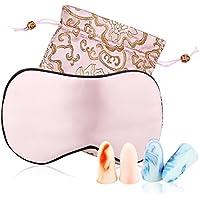 YANIBEST Schlafmaske Seide Damen Schlafbrille Augenmaske Schlafmaske Mit Zwei Paar Ohrstöpsel preisvergleich bei billige-tabletten.eu