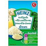 Heinz Dîners de chou-fleur et brocoli fromage 4mois + (125g) -