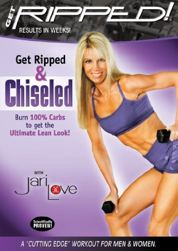 Get RIPPED! And Chiseled Top 10 workout! Fitness Magazine and USA Today by Jari Love
