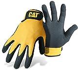 CAT Workwear Mens Workwear 17416 Nitrile Coated Adjustable Cuff Gloves - One Size EU / UK