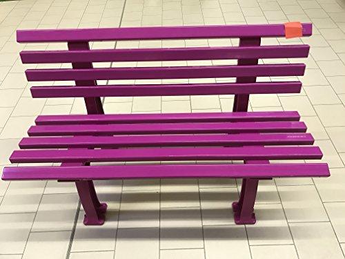 "Gartenbank ""Ibiza Color Edition"" BANK IBIZA 120 CM Flieder / Lila farben 2-Sitzer, 120 cm"