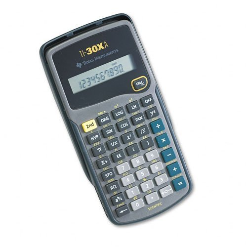Preisvergleich Produktbild Texas Instruments : TI-30Xa Scientific Calculator, 10-Digit LCD -:- Sold as 2 Packs of - 1 - / - Total of 2 Each by Texas Instruments
