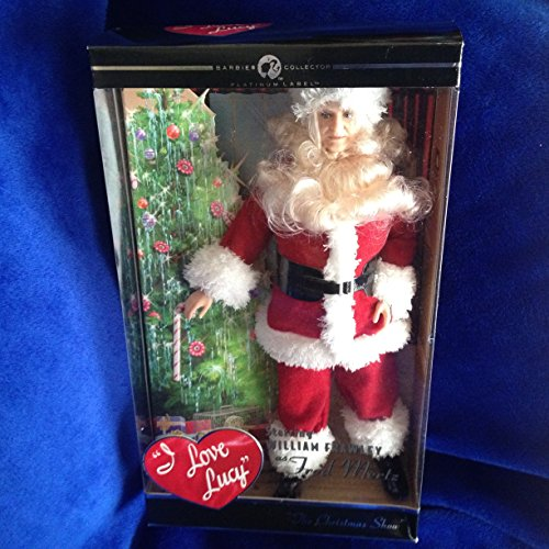 Barbie I Love Lucy FRED MERTZ Santa Doll The Christmas Show - Platinum Label Barbie Collector (2009)