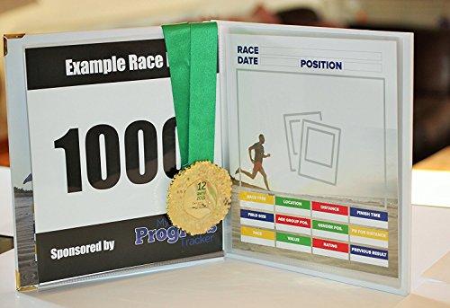 Libro de corredores de carreras.