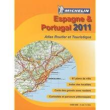 Espagne & Portugal : Atlas routier et touristique