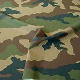 TOLKO Camouflage-Stoff Meterware - robust und reißfest - Nylonstoff im 4 Farben Tarndruck