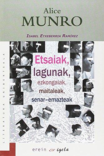 Etsaiak, lagunak, ezkongaiak, maitaleak, senar-emazteak: Premio Euskadi de Literatura 2019 categoría traducción literaria a euskera