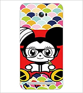 PrintDhaba Cartoon D-5970 Back Case Cover for ASUS ZENFONE MAX ZC550KL (Multi-Coloured)