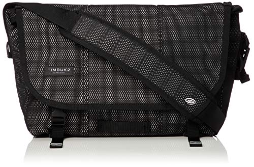 Timbuk2 Maze Classic Messenger Bag S Jet Black Woven Reflective 2019 Tasche