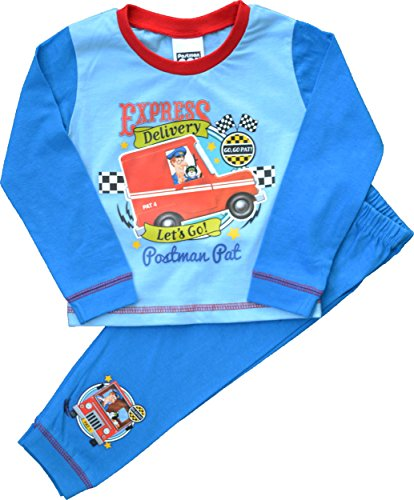 Image of Boys Postman Pat Express Delivery Long Pyjamas Size 18-24 Months