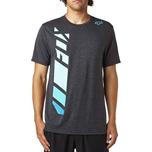 Fox Herren Side Seca Ss Tech Tee T-Shirt Schwarz