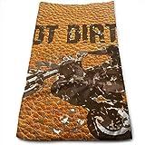 Kaixin J Got Dirt Bike Motorcross Racing Unique Microfiber Travel & Sports Towel