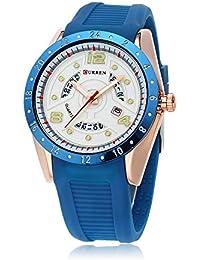 SJXIN Reloj Elegante 8142 Reloj de Calendario Reloj para Hombre de Goma Big Dial Aliexpress Relojes