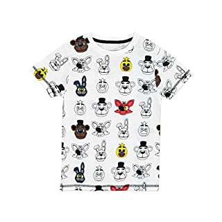 Five Nights at Freddy's Boys Five Nights at Freddy's T-Shirt Age 9 to 10 Years