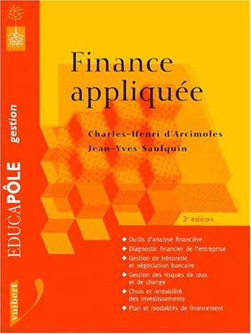 La finance appliquée