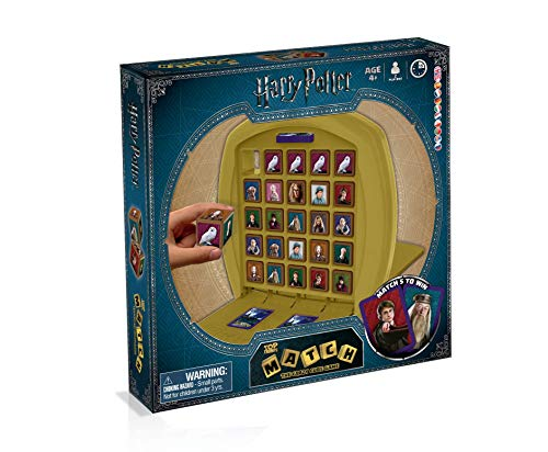 Winning Moves-10469/01724 Top Trumps Match Harry Potter, Multicolor (001724)