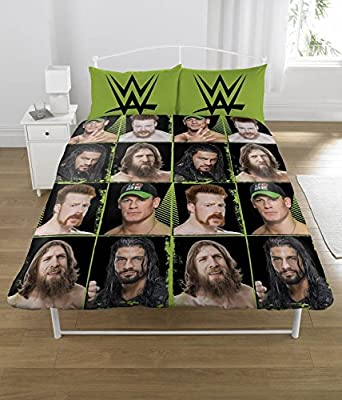 LATEST WWE DOUBLE ' Superstars' POLYCOTTON BEDDING EXCLUSIVE EDITION JOHN CENA SHEAMUS ROMAN REIGNS DANIEL BRYAN - low-cost UK light shop.