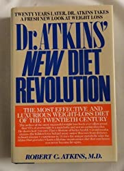 Dr Atkins New Diet Revolution by Robert C. M.D. Atkins (1992-08-02)
