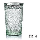JIEJIEDE Führen sie kostenlose kristallgläser trinken,Kreative europäische prägen bunte klar schnapsgläser weingläser für bier whiskey milch saft tee kaffee-B