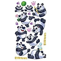 Sticko Rolly Polly Panda Stickers