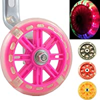 Wheels of Awesomeness – Intermitente LED para ruedines para bicicletas de niños de Bikes & Coi