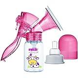 Farlin BPA Free Effort Saving Manual Breast Pump (Pink)
