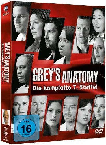 Grey's Anatomy - Die jungen Ärzte: Staffel  7 (6 DVDs)