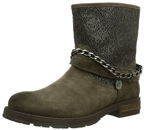 Liu Jo Bykers Stivaletti Nuovo SCARPE DONNA, Marrone (Braun (CR TORBA)), 39 EU (6 Kinder UK)