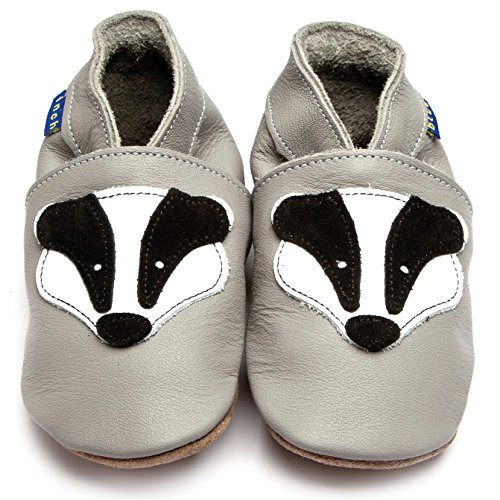 inch-blue-girls-boys-luxury-leather-soft-sole-pram-shoes-badger-grey