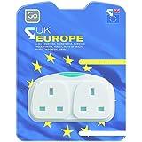 Design-Go Adaptateur Duo Adaptateur pris'UK-UE)