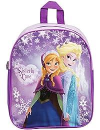 Preisvergleich für Rucksack die Schneekönigin - Frozen - 32 cm lila